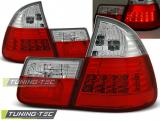 BMW E46 99-05 RED WHITE LED