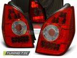 CITROEN C2 11.03-10 RED WHITE LED