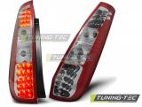 FORD FIESTA MK6 05.02-10.05 3D RED WHITE LED