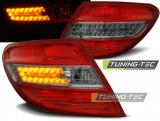 MERCEDES C-KLASA W204 SEDAN 07-10 RED SMOKE LED
