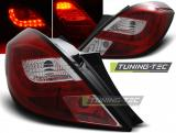 OPEL CORSA D 3D 04.06- RED WHITE LED