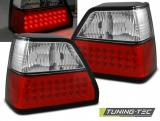 VW GOLF 2 08.83-08.91 RED WHITE LED