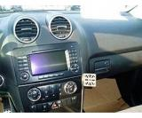 GSM konzole do Mercedes ML 06-