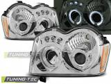 Chrysler Jeep Grand Cherokee 05-08  Angel Eyes Chrome