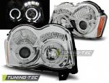 Chrysler Jeep Grand Cherokee 08-10 Angel Eyes Chrome