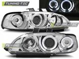 Honda Civic 09.91-08.95 4D Angel Eyes Chrome