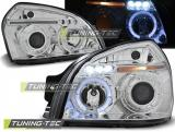 Hyundai Tucson 07.04-10 Angel Eyes Chrome